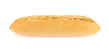 Rostat brödbrödskivor i remsor i metall lägger in Royaltyfria Bilder