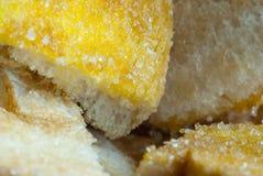 Rostat brödsmör och socker Royaltyfria Bilder