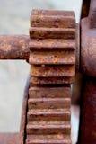 rostat gammalt för metall Royaltyfri Fotografi