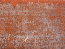 Rostat stål Arkivfoto