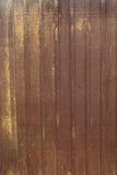 Rostat stålark Arkivbild