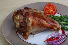 Rosted turkey leg Royalty Free Stock Photos