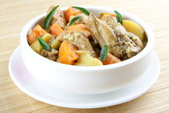 Rosted vegetable with chicken Stock Images