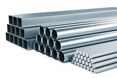 Rostfreies Metall Stockfoto