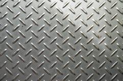 Rostfritt stål för branscher för textur för metallyttersida Arkivfoto