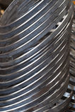 Rostfritt stålcirklar Royaltyfri Bild