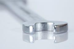 rostfritt stålskiftnyckel Royaltyfria Bilder