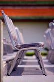 Rostfritt stålstol Royaltyfria Bilder