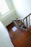 rostfritt trappastål Fotografering för Bildbyråer