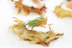 Rosti Appetizer Stock Photo