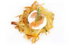 Rosti Isolated Royalty Free Stock Photography