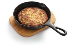 Rosti, Swiss potato pancake Royalty Free Stock Photography