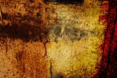 rostig abstrakt bakgrund Royaltyfria Bilder