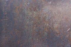 Rostig anfrätt textur för metall Fotografering för Bildbyråer