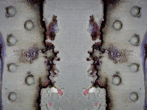rostig bakgrund Royaltyfria Bilder