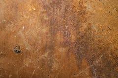 Rostig bakgrund för metallark Royaltyfri Foto