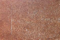 Rostig bakgrund f?r orange metall, metallgrungetextur arkivbilder