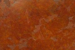 Rostig bakgrund med fläckar och skrapor Royaltyfria Bilder