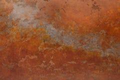 Rostig bakgrund med fläckar och skrapor Royaltyfri Fotografi