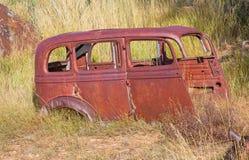 rostig bil Arkivbild