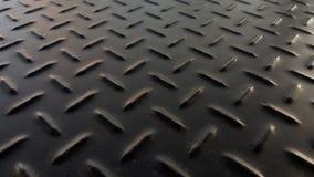 Rostig för modelljärn för svart diamant platta för metall arkivbild
