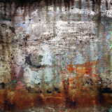 Rostig-farbiger grunge Hintergrund Lizenzfreies Stockfoto
