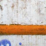 Rostig-farbiger grunge Hintergrund Lizenzfreies Stockbild