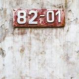Rostig-farbiger grunge Hintergrund Stockbilder