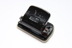 rostig gammal stansmaskin för hål Royaltyfri Foto