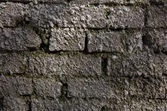 Rostig gammal tegelstentextur Arkivbild
