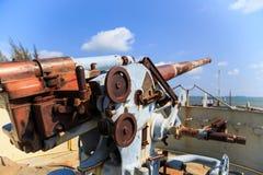 Rostig kanon Royaltyfria Bilder