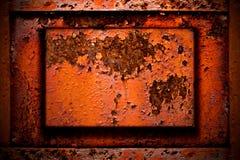Rostig metall arkivbilder