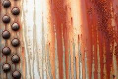 rostig metall Royaltyfria Bilder