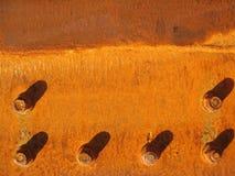 rostig metall Arkivfoton