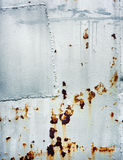 Rostig metallbakgrund Arkivfoto