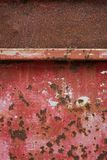 Rostig metallbakgrund Arkivbild
