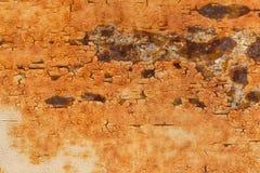 Rostig metallisk ramtexturbakgrund Royaltyfria Bilder