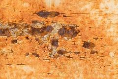 Rostig metallisk ramtexturbakgrund Fotografering för Bildbyråer