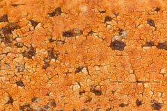Rostig metallisk ramtexturbakgrund Royaltyfri Foto