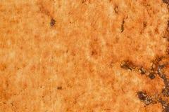 Rostig metallisk ramtexturbakgrund Arkivfoton