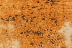 Rostig metallisk ramtexturbakgrund Arkivfoto