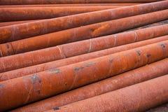 Rostig metallrörbunt Royaltyfri Fotografi
