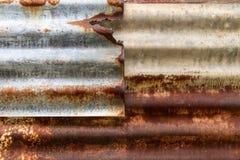 Rostig metalltaxture Royaltyfri Bild