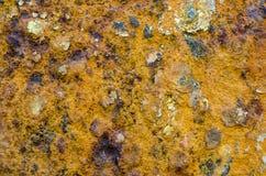 Rostig metallyttersida Royaltyfria Foton