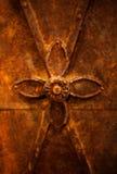 rostig metalwork arkivfoton