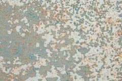 Rostig och gammal bakgrund med tomt område för servicetext skada eller antik yttersida från branschseminarium korrosion av stål Arkivfoton