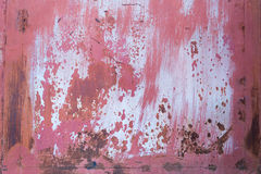 Rostig ståldörrtextur Arkivfoto