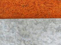rostig surface textur för detaljerad fragmentmetallrost arkivfoton