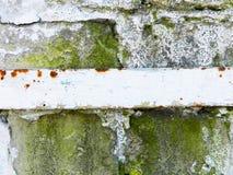 rostig surface textur för detaljerad fragmentmetallrost Arkivbilder