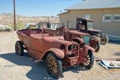 rostig tappning för bilar arkivbild